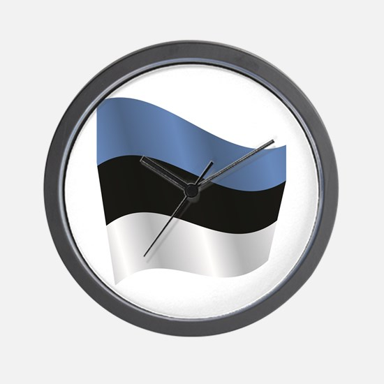 Unique Estonia Wall Clock