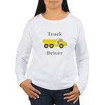 Truck Driver Women's Long Sleeve T-Shirt