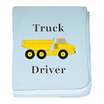 Truck Driver baby blanket
