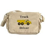 Truck Driver Messenger Bag