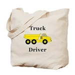 Truck Driver Tote Bag