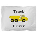 Truck Driver Pillow Sham