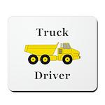Truck Driver Mousepad