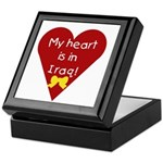 My Heart is in Iraq Keepsake Box