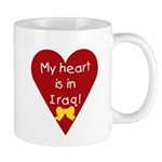 My Heart is in Iraq Mug