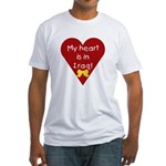 My Heart is in Iraq Fitted T-Shirt