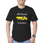 Off Road Trucker Men's Fitted T-Shirt (dark)