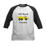 Off Road Trucker Kids Baseball Jersey