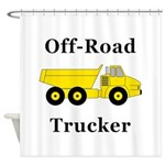Off Road Trucker Shower Curtain