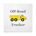 Off Road Trucker Queen Duvet