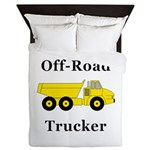 Off Road Trucker Queen Duvet