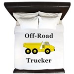 Off Road Trucker King Duvet