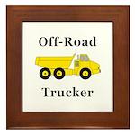 Off Road Trucker Framed Tile
