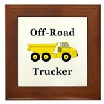 Off Road Trucker Framed Tile