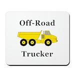Off Road Trucker Mousepad