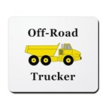 Off Road Trucker Mousepad