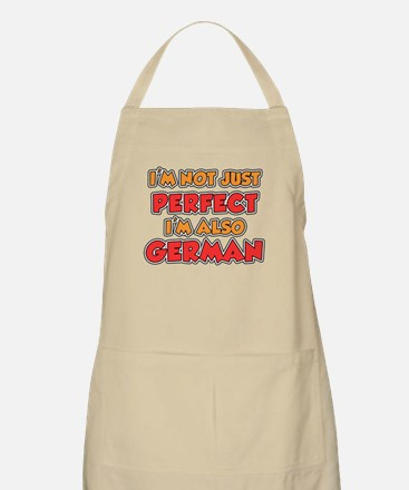 Not Just Perfect German Apron