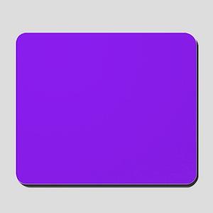 Neon Purple Solid Color Mousepad