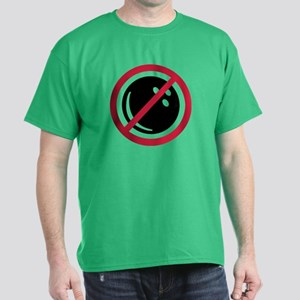 No bowling Dark T-Shirt