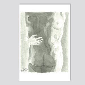 Nude Women Postcards (Package of 8)