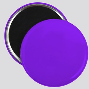 Neon Purple Solid Color Magnets