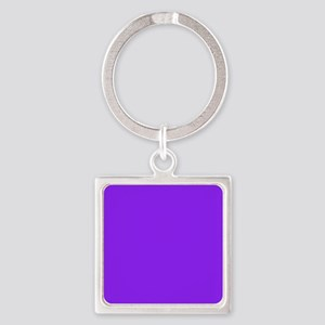Neon Purple Solid Color Keychains