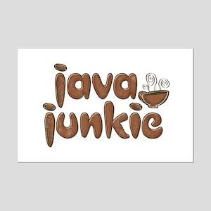 Java Junkie Mini Poster Print