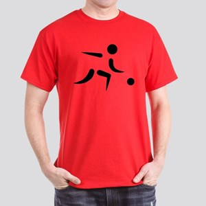 Bowling player icon Dark T-Shirt