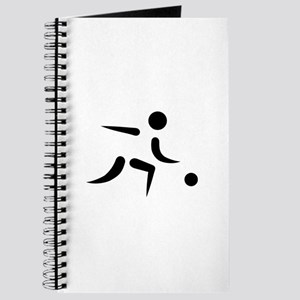 Bowling player icon Journal