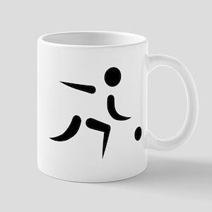Bowling player icon Mug