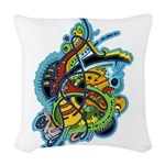 Design 160321 by Mike Jack Woven Throw Pillow