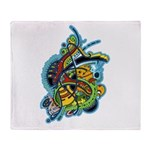 Design 160321 by Mike Jack Throw Blanket
