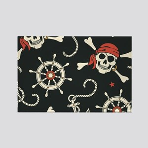Pirate Skulls Magnets