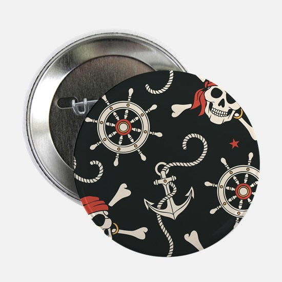 "Pirate Skulls 2.25"" Button (10 pack)"