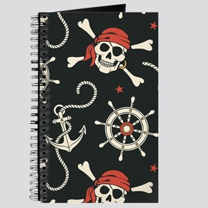 Pirate Skulls Journal