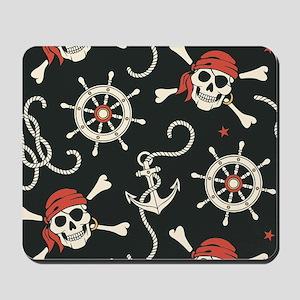 Pirate Skulls Mousepad
