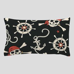 Pirate Skulls Pillow Case