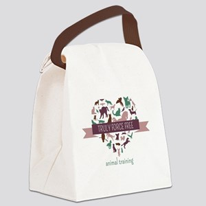Truly Force Free Animal Training Canvas Lunch Bag
