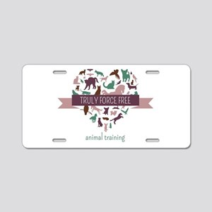 Truly Force Free Animal Tra Aluminum License Plate