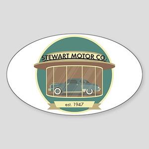 Stewart Motor Company Phoenix 1947 Sticker