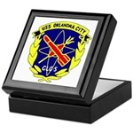 USS Oklahoma City (CLG 5) Keepsake Box