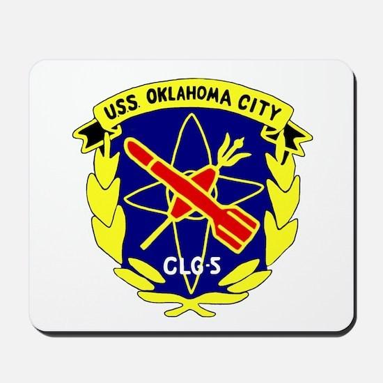 USS Oklahoma City (CLG 5) Mousepad
