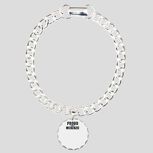 Proud to be MCKENZIE Charm Bracelet, One Charm