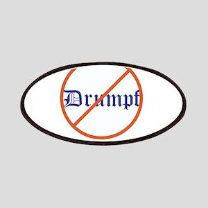 Anti Trump! No Drumpf Patch