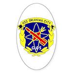 USS Oklahoma City (CLG 5) Oval Sticker