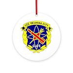 USS Oklahoma City (CLG 5) Ornament (Round)