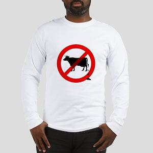 No Bullshit Sign Long Sleeve T-Shirt