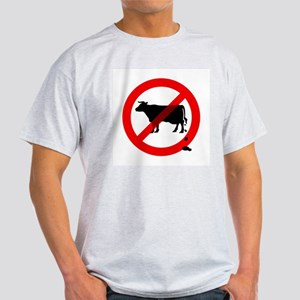 No Bullshit Sign Light T-Shirt