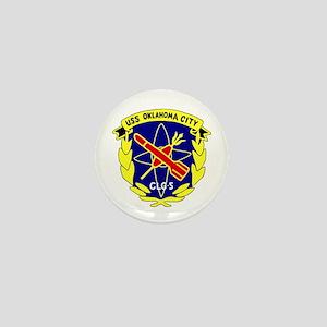 USS Oklahoma City (CLG 5) Mini Button