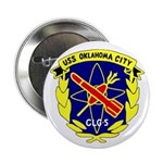 """USS Oklahoma City (CLG 5) 2.25"""" Button (10 pack)"""